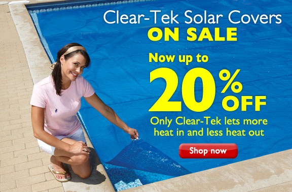 Use the rays of the sun to heat your pool naturally! Did you know it can increase the temperature 10-15 full degrees? Check out our Solar Pool Covers selection today and save up to 20% off! Now low as $49.49.