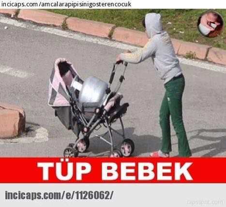 Tüp Bebek Caps - Karikatür  www.sendefikibokde.com
