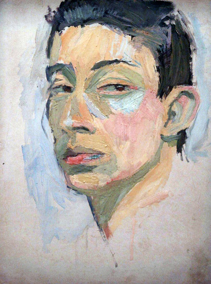 Serge Gainsbourg Self-Portrait, 1958                                                                                                                                                                                 Plus