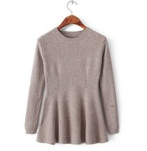Woman knitted dress pure color sweater basic casual lady style pullover  Best Buy follow this link http://shopingayo.space