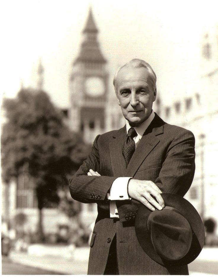 Ian Richardson as Francis Urquhart in the BBC series House of Cards, To Play the King, and The Final Cut. -- A marvelously vile and murderous fellow. There is going to be an American version with Kevin Spacey. One must ask, 'why bother?'