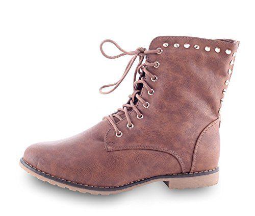 Damenschuhe Stiefelette WOW Western Boots 9239 Braun 37