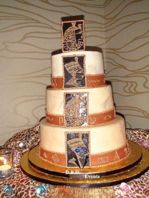 Egyptian Themed Cake | Cakes | Cake, Cake art, Cupcake cookies