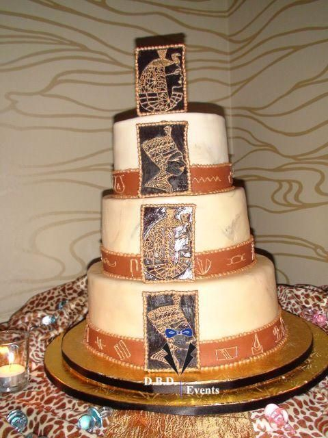 Egyptian Themed Cake | Wedding Cakes | Pinterest | Themed ...