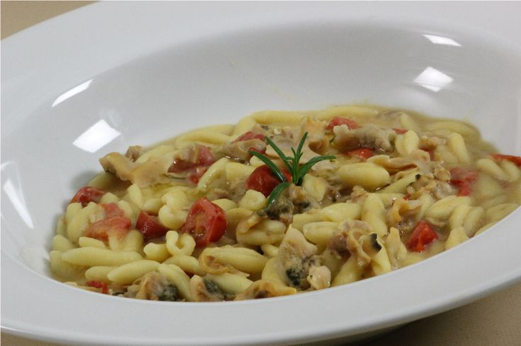 Cavatelli w/Beans and Clams. http://www.cookingwithnonna.com/italian-cuisine/cavatelli-with-cream-of-beans-and-clams.html