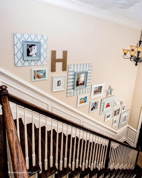 Creative Wall Decoration For Hallway: 50 Best Images About Staircase Wall Decorating Ideas On