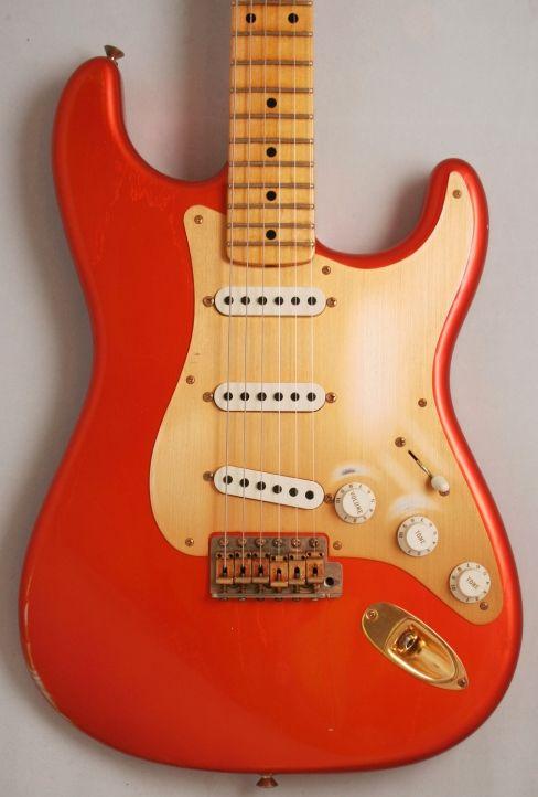 Fender Custom Shop '56 Stratocaster Relic (Candy Tangerine)