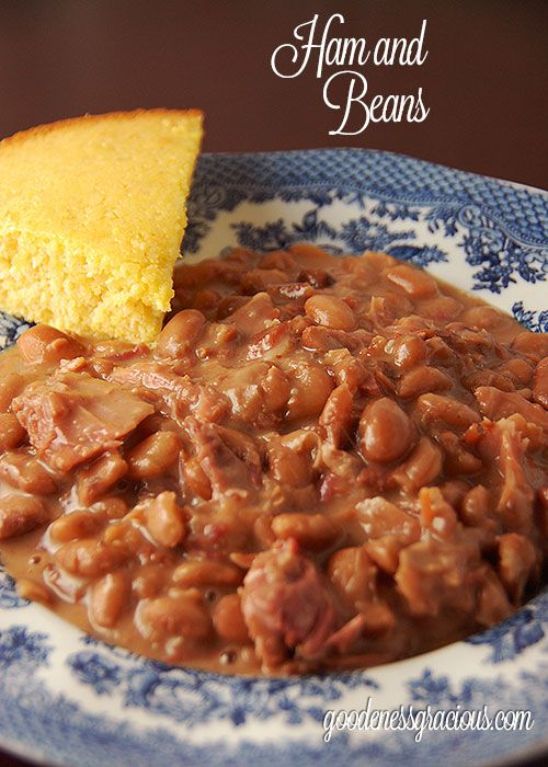 Stove Top Ham and Beans #hamandbeans #easyrecipe #yummy