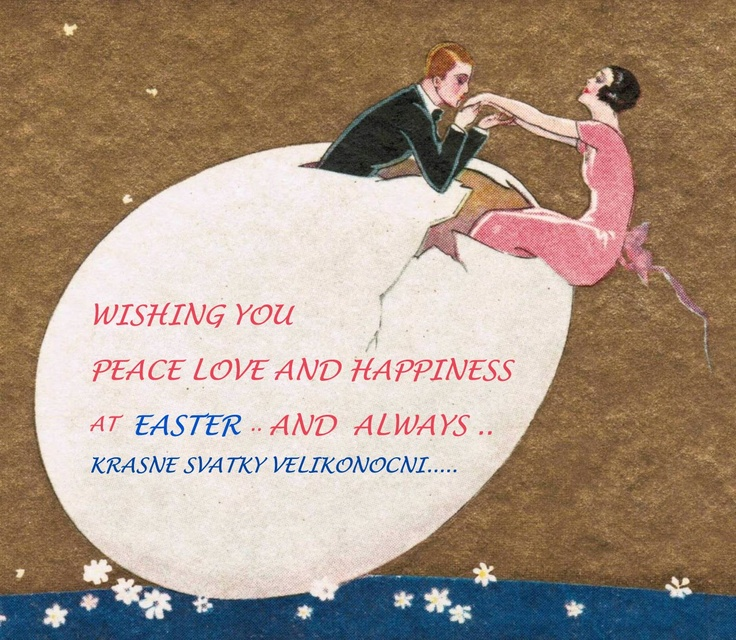 Happy Easter from Zig - Zag Vintage !