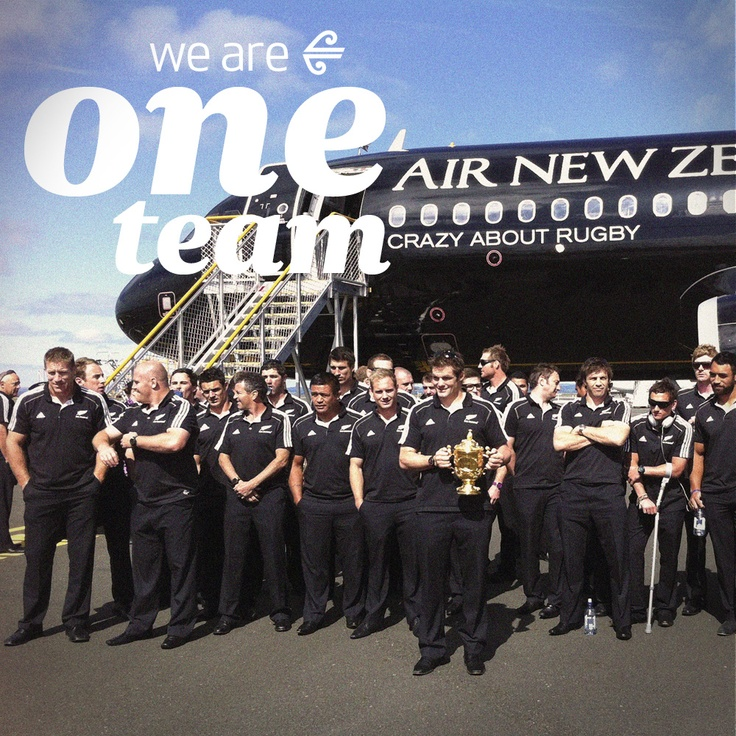 We Are One Team. Your journey starts here: careers.airnz.co.nz