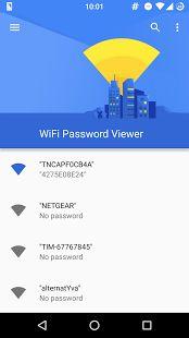 WiFi Password Viewer (ROOT)– уменьшенный скриншот