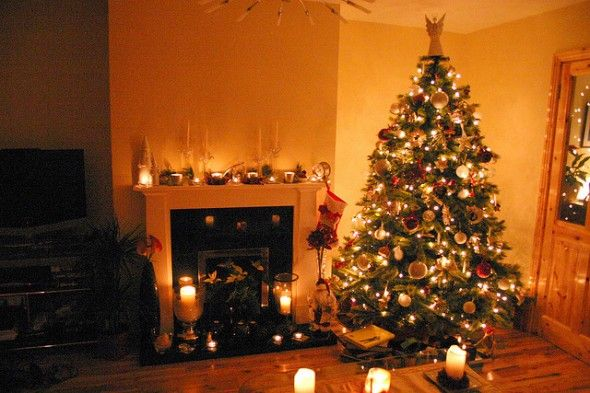 christmas tree setting - Google Search