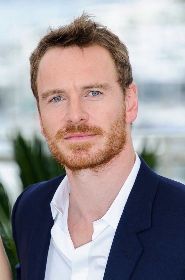 Michael Fassbender at MacBeth photo call at Cannes 2015