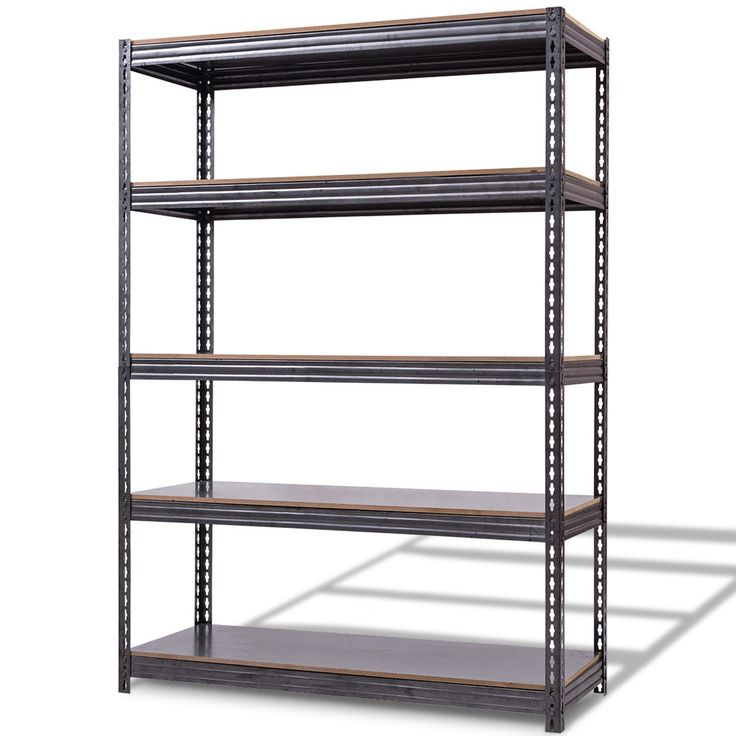 72 X 48 Heavy Duty 5 Level Adjustable Storage Garage Shelf