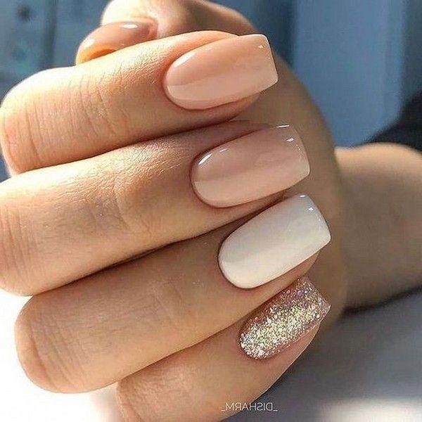 Top 20 Wedding Nail Art Design Ideas In 2020 Square Nails Wedding Nail Art Design Bridesmaids Nails