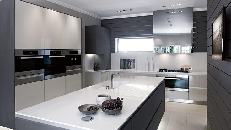 Sleek & modern kitchen by blu_line | northcliff #modernkitchen #moderninteriors