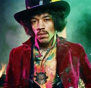 2015 Rock and Roll Music oil painting- Jimi Hendrix ROCK CANVAS ART 30 inch -100% handpainted WORK----free shipping cost