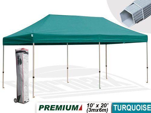 Eurmax Premium Ez Pop Up Canopy With Wheeled Bag