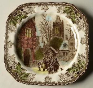 Johnson-Brothers-CHRISTMAS-FRIENDLY-VILLAGE-Church-Village-Salad-Plate-5537383