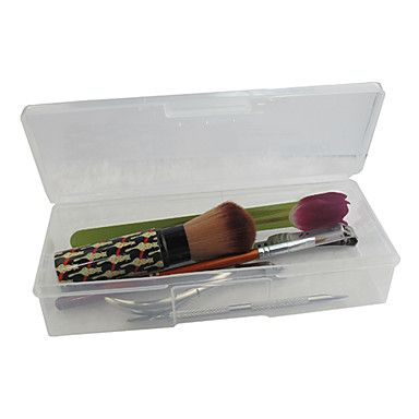 Clear Plastic Nail Art Tool Storage Box(19x7.5x4cm) – CAD $ 4.47