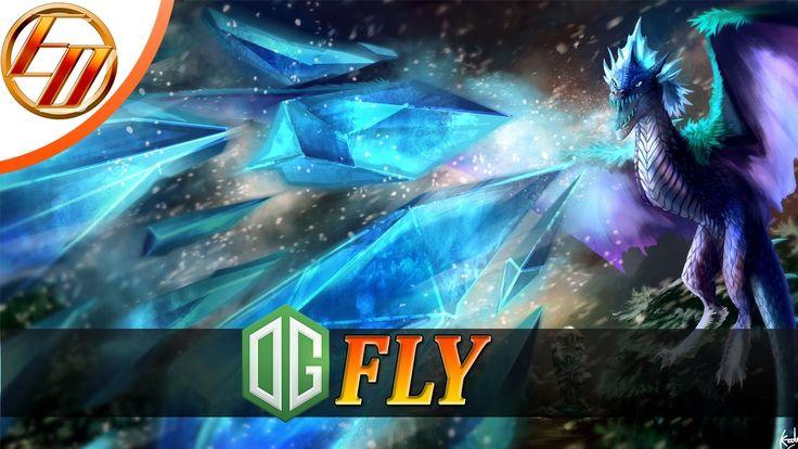 OG.Fly  Winter Wyvern  Dota 2 Pro Gameplay | Team OG