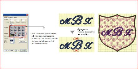 Digitizer Mbx   Janome Argentina   MONOGRAMAS PARA PERSONALIZAR TUS PROYECTOS