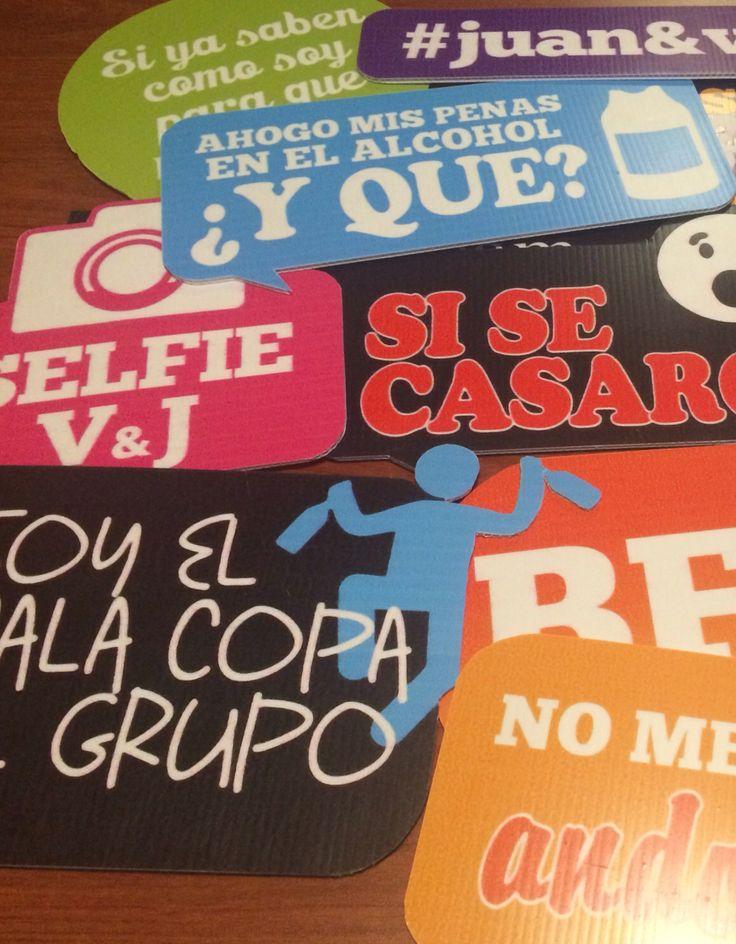 1000 images about letreros de boda on pinterest fiestas - Ideas divertidas para fiestas ...