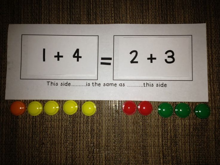 Ask a kiddo who has just written 2 + 3 = 5 if it's okay to write it 5 = 2 + 3 and you're likely to get an emphatic NO! Enter common core standard 1.OA.7: Understand the meaning of the equal sign, and determine if equations involving addition and subtraction are true or false. …