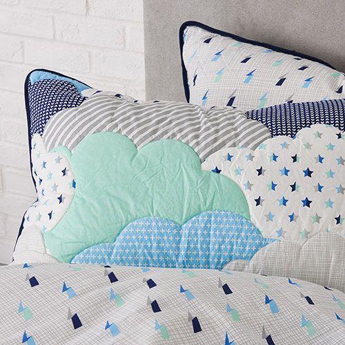 Cloud Blue Quilt Cover Set