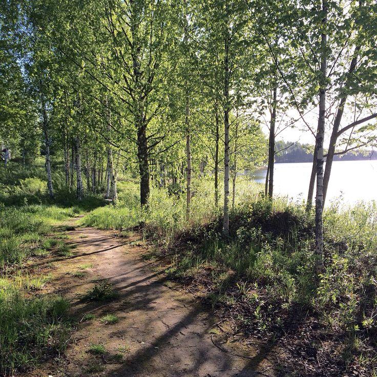 Aamuauringon lumoa. #Vaajakoski #Finland