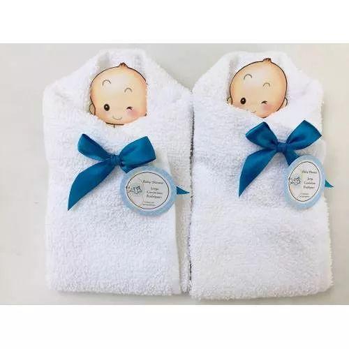 Bebé Baby Shower Recuerdo Economicos Bautizo Toalla Premio   $ 20.00
