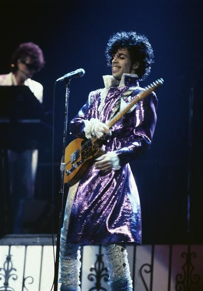 """Prince: This """"Sultan of Seduction"""" rose to stardom in 1982 with the release of his fifth album, """"1999,"""" which became an immediate hit, selling over 3 million copies. And when fans couldn't get enough of Prince's velvet skintight pants and penchant for ruffles, they were able to watch him over and over again in his first movie, a semi-autobiography called """"Purple Rain."""""""