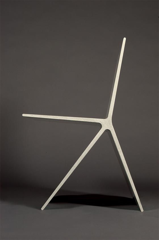 • DUCTAL CONCRETE CHAIR • design by OMER ARBEL (born in 1976) • (collaboration with producer Lafarge concrete) •