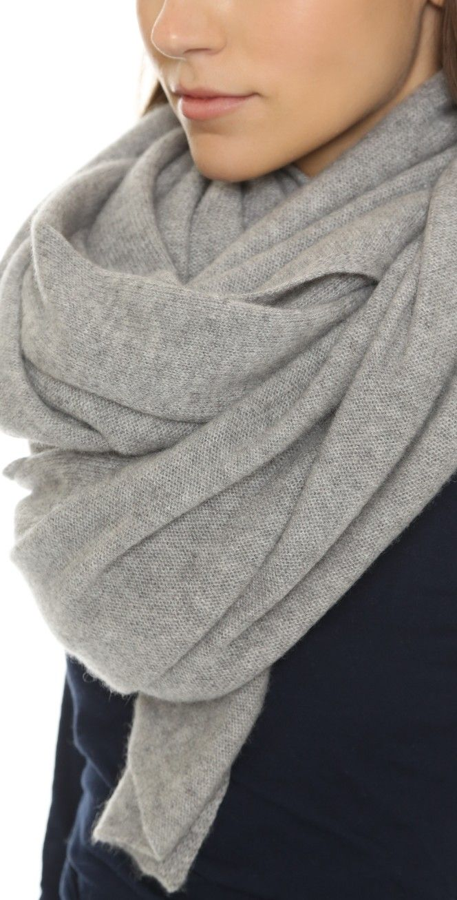 White + Warren Cashmere Travel Wrap Scarf | SHOPBOP