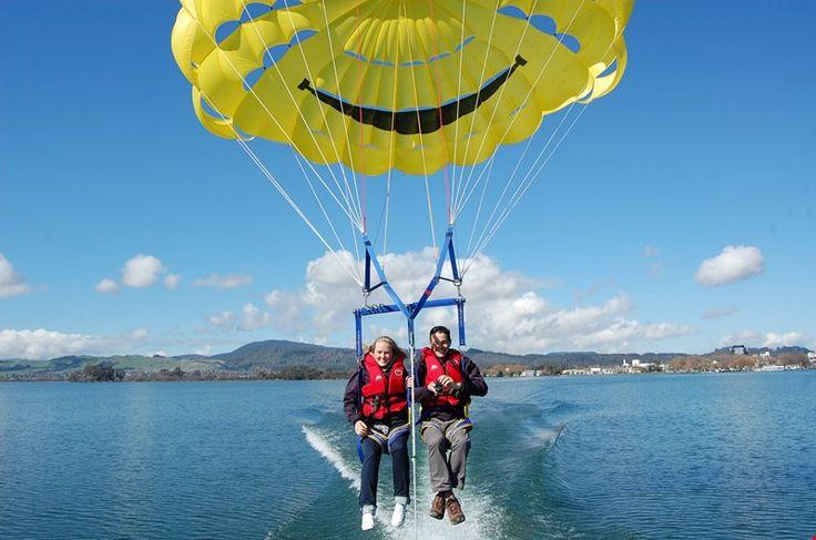 Rotorua NZ   KJet Parasailing