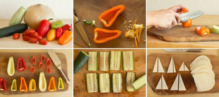 Vegetable Food Art - iCreatived