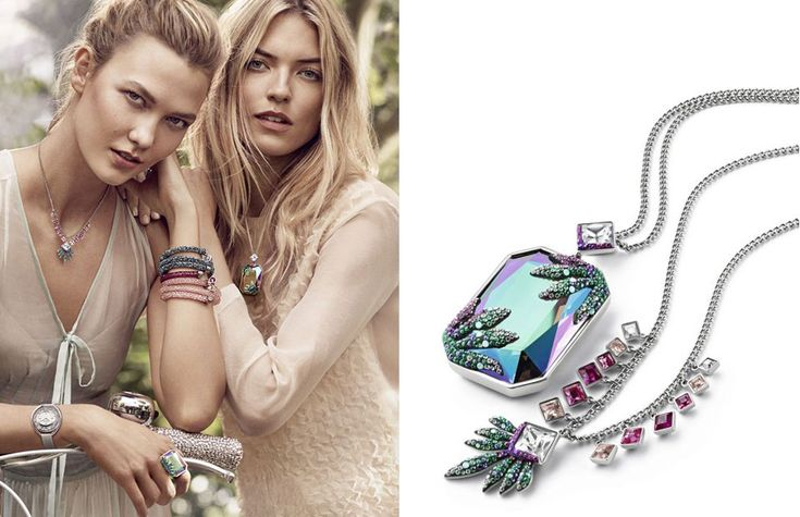 Give yourself a sparkle with floral jewellery designs from Swarovski's Spring Collection!