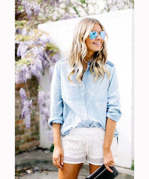 Πως φοράς τα δαντελωτά σορτς ώστε να μην φαίνονται πιτζάμες - MaryMary.gr