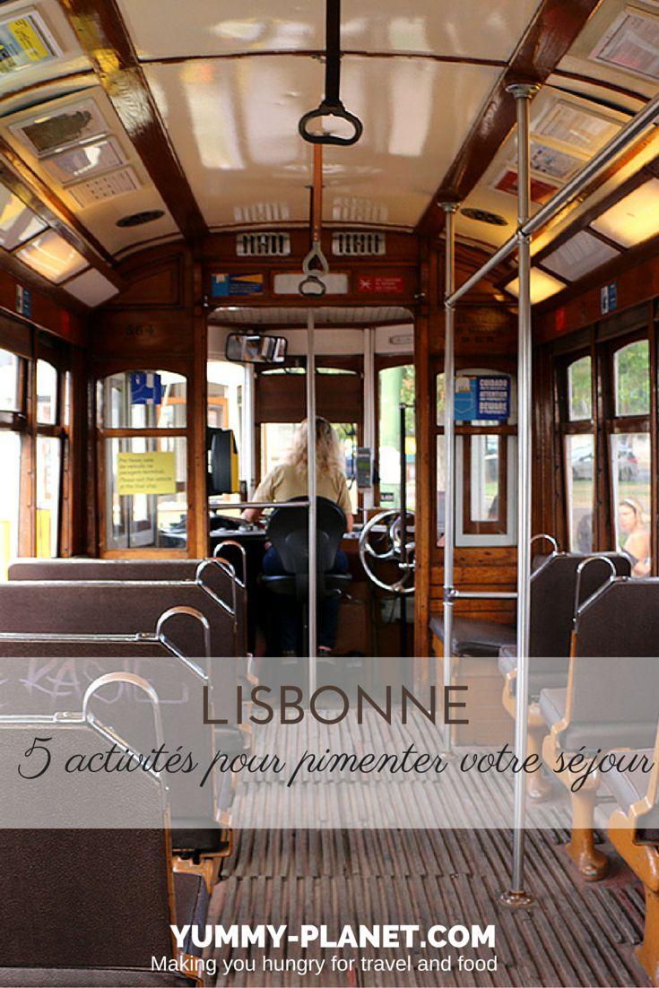 5 activités pour pimenter votre séjour à Lisbonne
