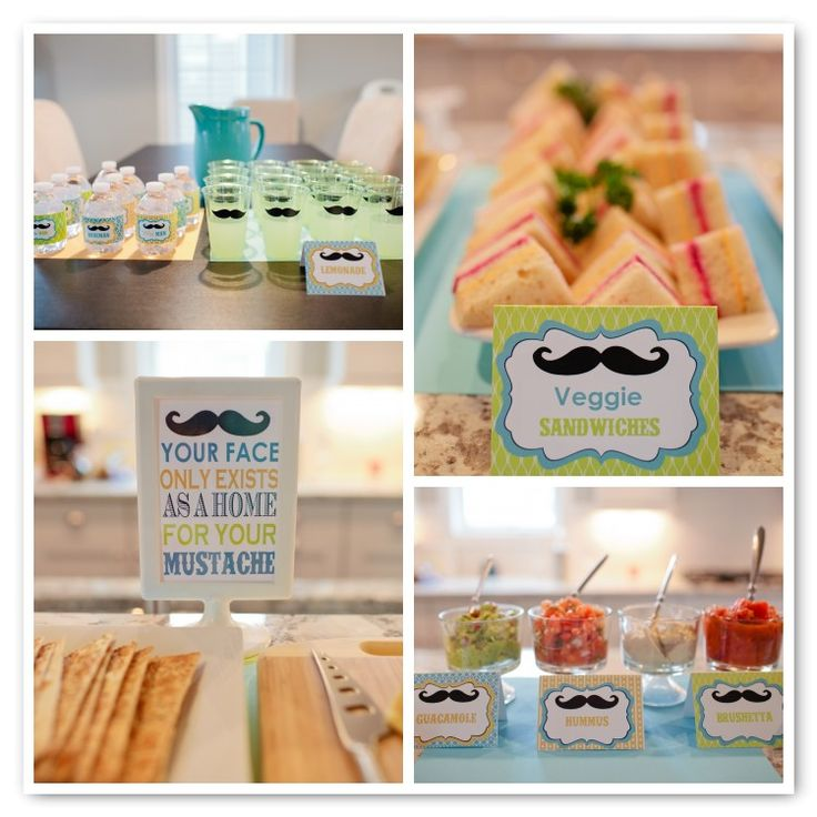 Best 25 Mustache Party Food Ideas On Pinterest