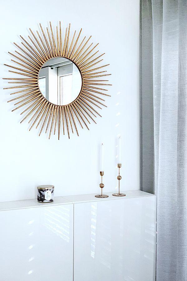 Runde Wandspiegel für alle Räume Wohnklamotte | Esszimmer