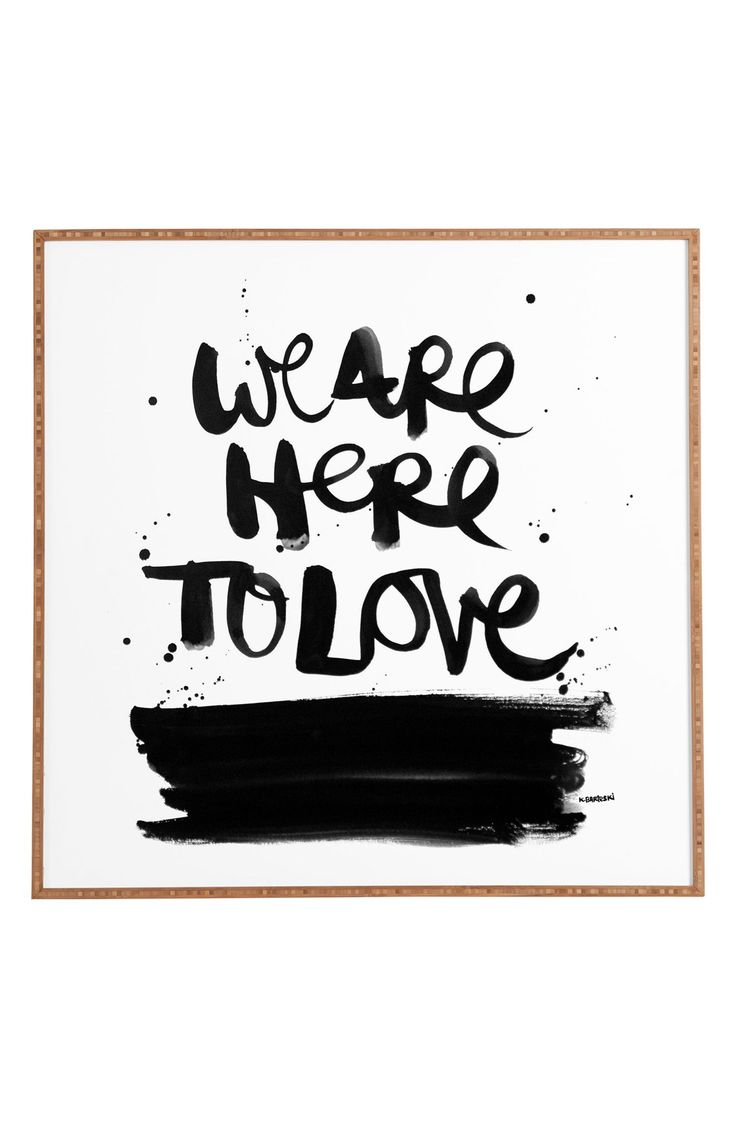 Here to love.