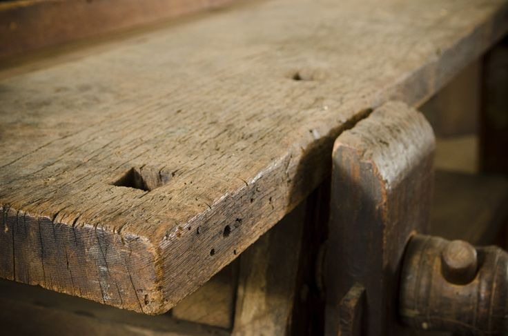 18th Century Moravian Workbench at Old Salem, North ...