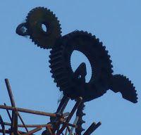 Metal-gear bird