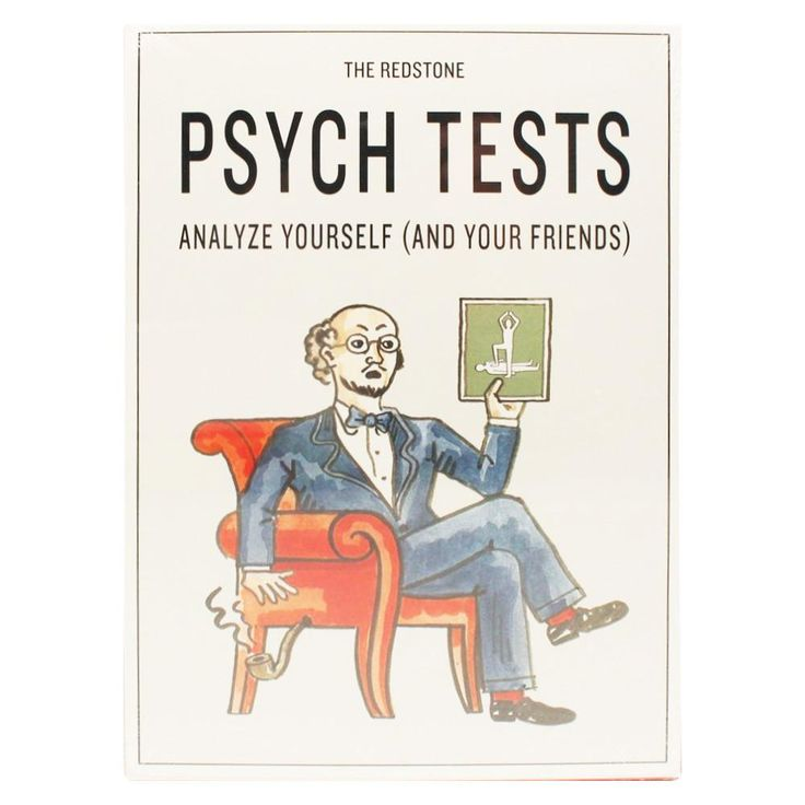 The Redstone Psych Tests Book