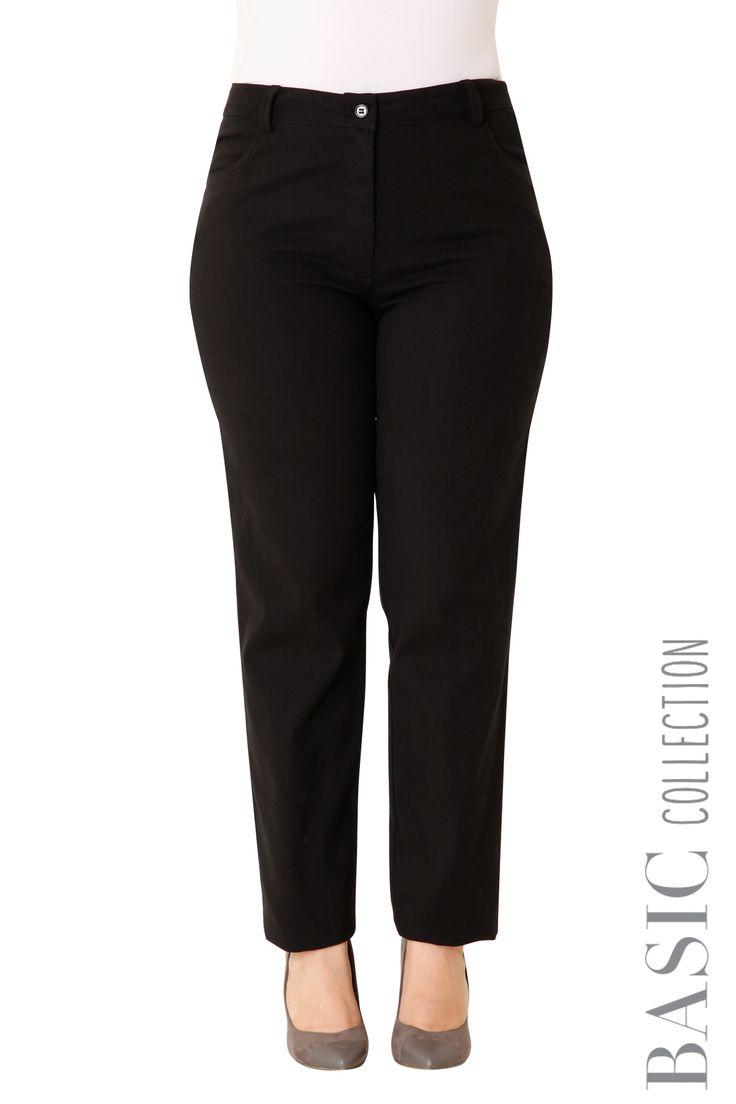 Ελαστικό βαμβακερό παντελόνι - Ρούχα | XLcloset