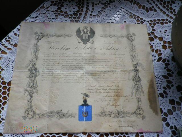 Dokumenty z Heroldyi... w Muzeum SzlacheckieOstatki w MyViMu.com
