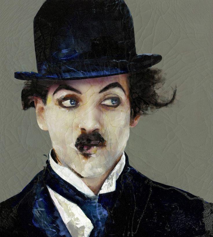 Lita Cabellut, 'Chaplin special 04', 2013
