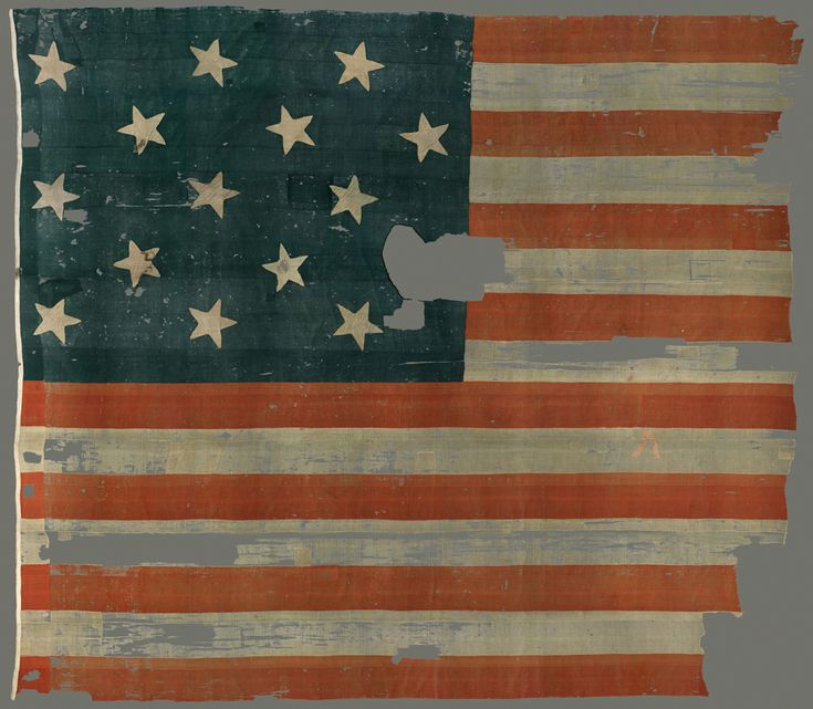 THE Star Spangled Banner at the Smithsonian National Museum of American History.  (Been there.)