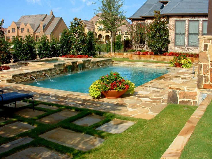 27 best Pool Landscaping on a Budget  Homesthetics images ... on Pool Patio Ideas On A Budget id=17152